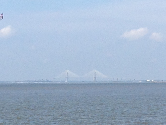 Sidney Lanier Bridge (view from St. Simons Island)