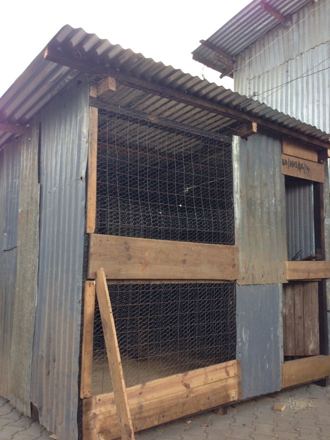 Our new chicken coop. Chickens coming soon…