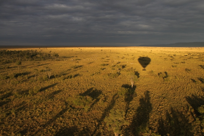 Balloon Ride over Masai Mara