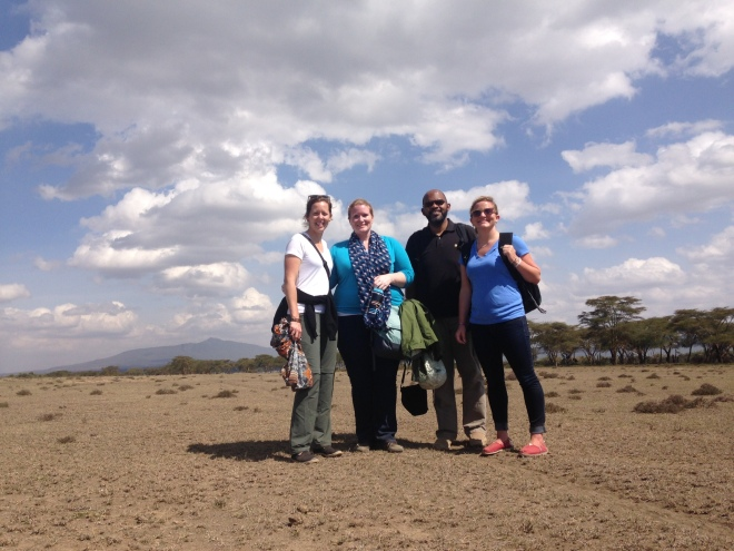 Visiting Lake Naivasha with friends from DC (and Nigeria)
