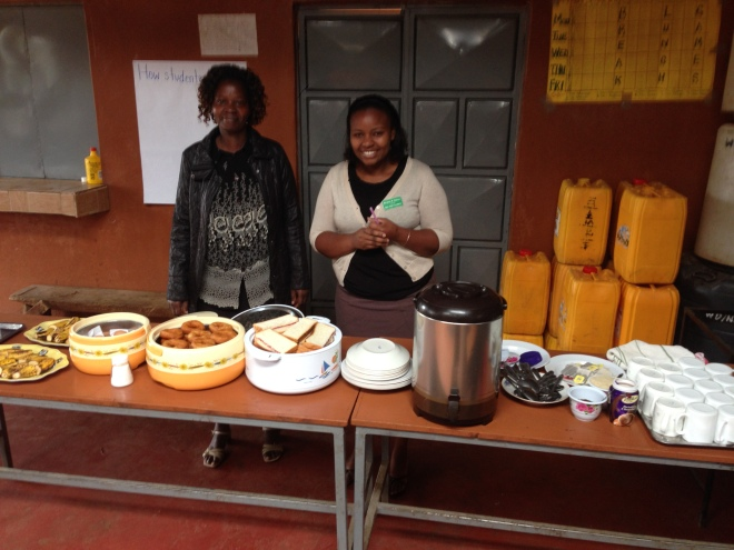Teacher Margaret and Madame Tunga planned delicious meals for us all week!