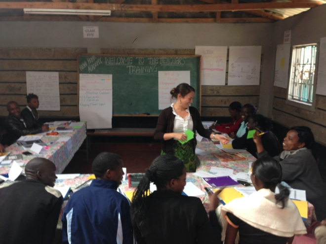 The week included modeling teaching methods that can be incorporated immediately into the classroom.