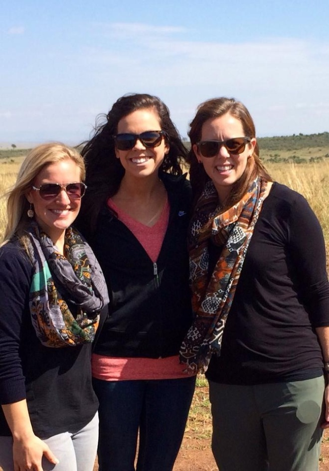 On safari in the Mara