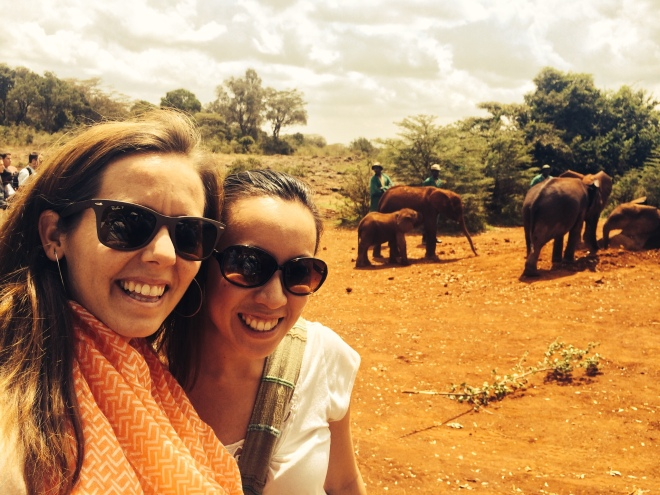 Emily is also a friend from DC. We visited the baby elephants, worked in Kibera and then sat on the beautiful beaches of Zanzibar!
