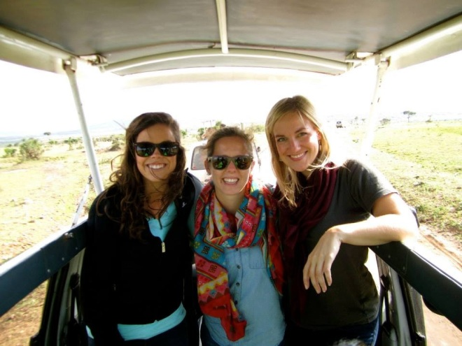 Marcie and Amy are friends from DC. We enjoyed all things Nairobi and then went to Masai Mara for safari.