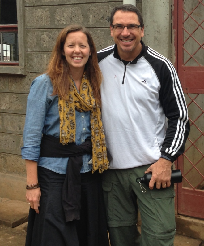 At lastly, my cousin, Michael Mozley, came to Kenya for work and spent a day in Kibera visiting all our projects.