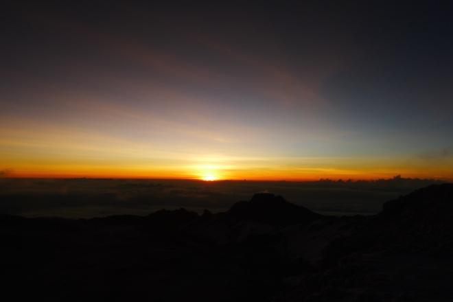 Most amazing sunrise.