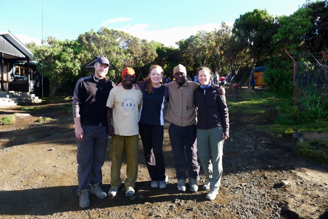 Our guides, Mndeme and Salim, were with us every step of the way. They are the best!