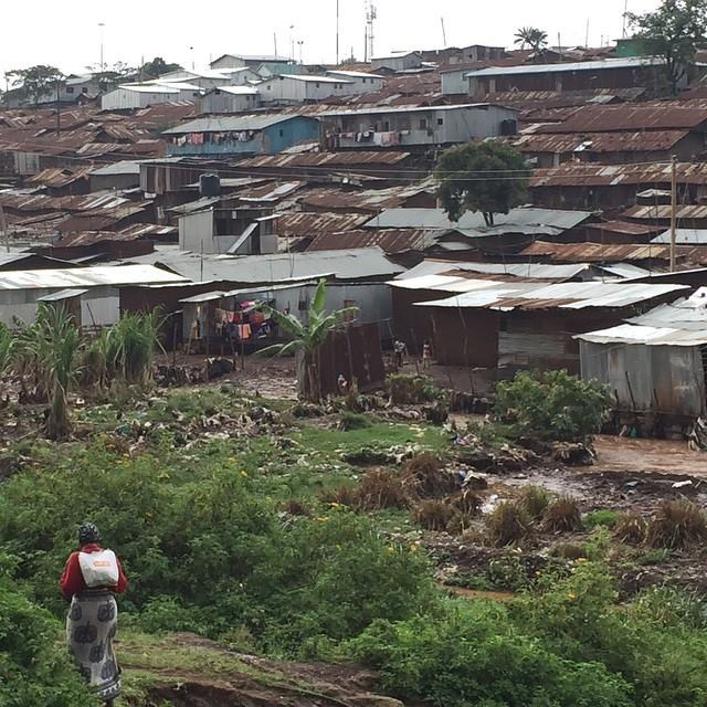 Rainy season has arrived! John and Dan got to experience Kibera in the mud!