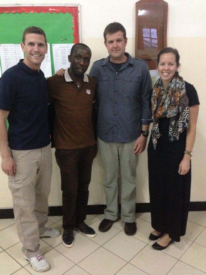After Wedensday night service last week with Abraham and visiting Pastors John and Dan from Restoration City Church DC