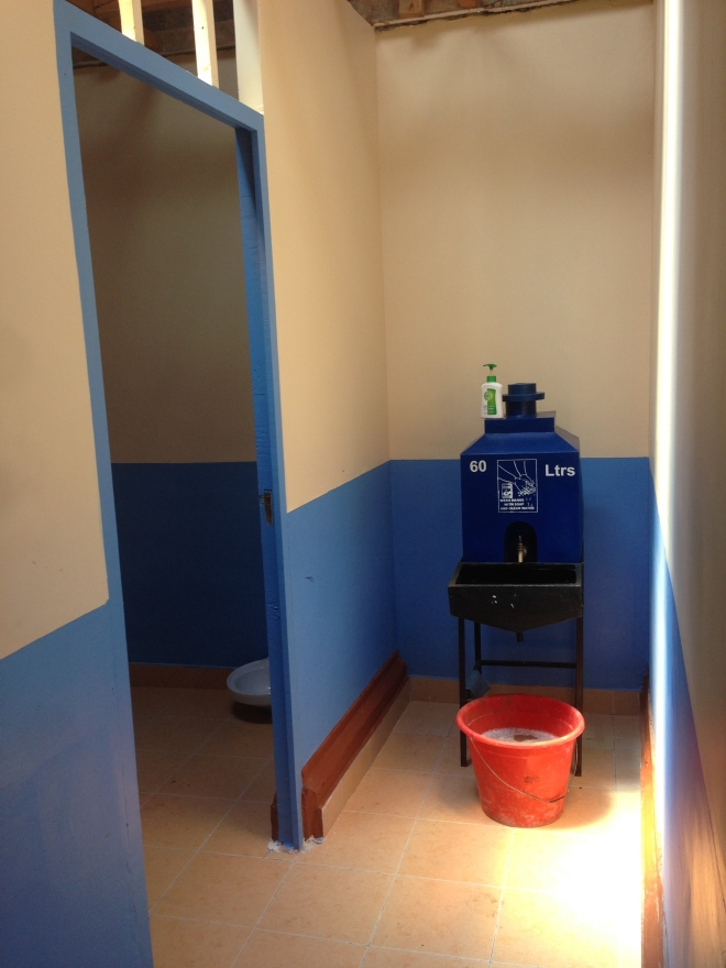 Examination Room and Hand Washing Station