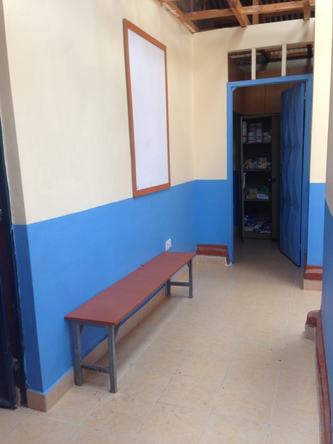 Clinic Waiting Area and Pharmacy