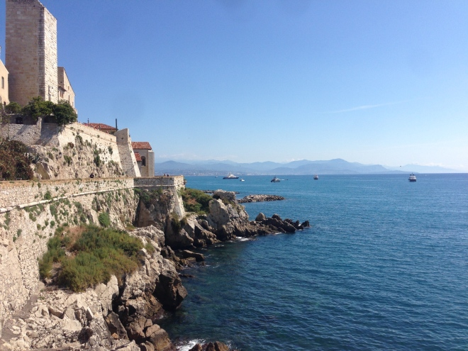 Musee Picasso at the Grimaldi Palace in Antibes