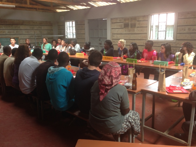 Back in Nairobi attending the teacher appreciation lunch at New Hope Kibera.