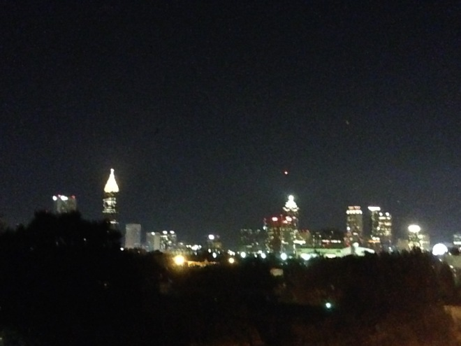 ATL skyline from my apartment